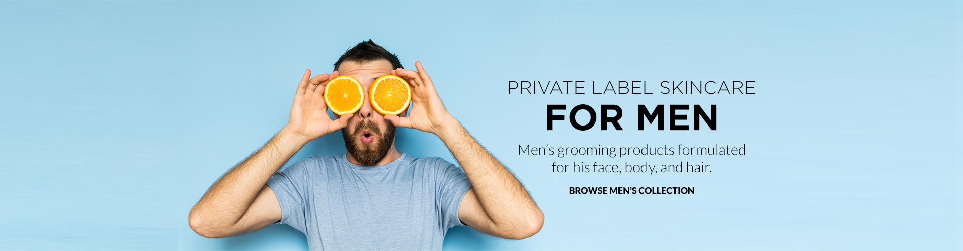 Custom Formulate Men Skincare